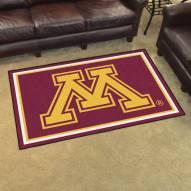 Minnesota Golden Gophers 4' x 6' Area Rug