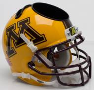 Minnesota Golden Gophers Alternate 2 Schutt Football Helmet Desk Caddy
