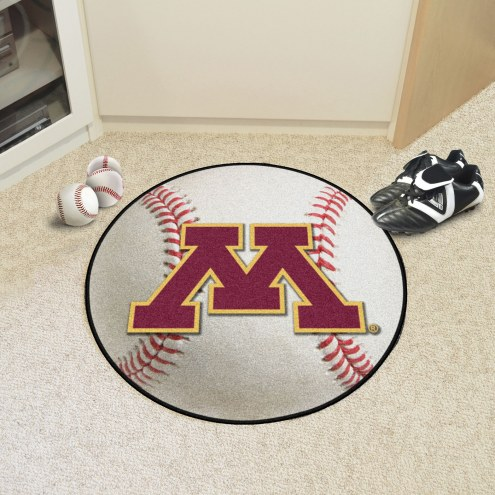 Minnesota Golden Gophers Baseball Rug