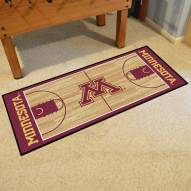 Minnesota Golden Gophers Basketball Court Runner Rug