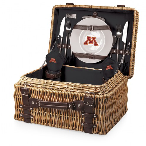Minnesota Golden Gophers Black Champion Picnic Basket