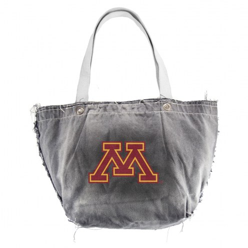Minnesota Golden Gophers Black NCAA Vintage Tote Bag