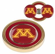 Minnesota Golden Gophers Challenge Coin with 2 Ball Markers