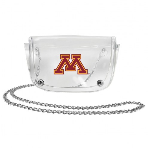 Minnesota Golden Gophers Clear Waistpack