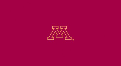 Minnesota Golden Gophers College Team Logo Billiard Cloth