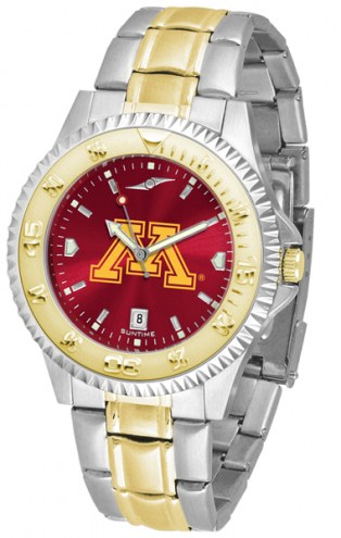 Minnesota Golden Gophers Competitor Two-Tone AnoChrome Men's Watch