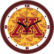 Minnesota Golden Gophers Dimension Wall Clock