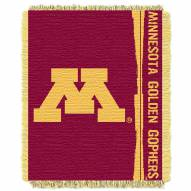 Minnesota Golden Gophers Double Play Woven Throw Blanket