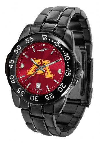 Minnesota Golden Gophers Fantom Sport AnoChrome Men's Watch