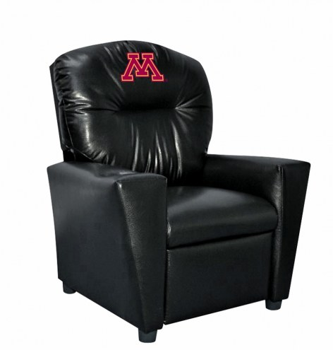 Minnesota Golden Gophers Faux Leather Kid's Recliner
