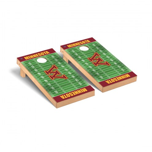 Minnesota Golden Gophers Football Field Cornhole Game Set