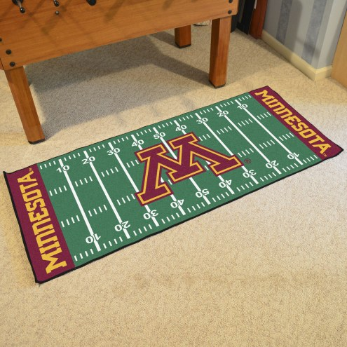 Minnesota Golden Gophers Football Field Runner Rug