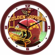 Minnesota Golden Gophers Football Helmet Wall Clock