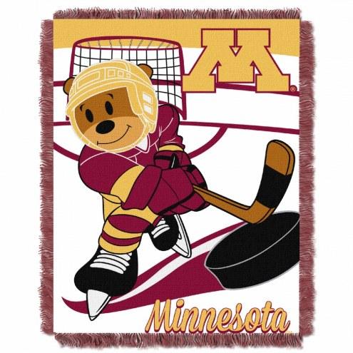 Minnesota Golden Gophers Fullback Baby Blanket