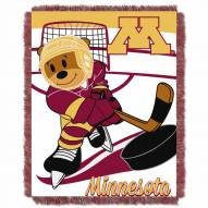 Minnesota Golden Gophers Fullback Baby Blanket