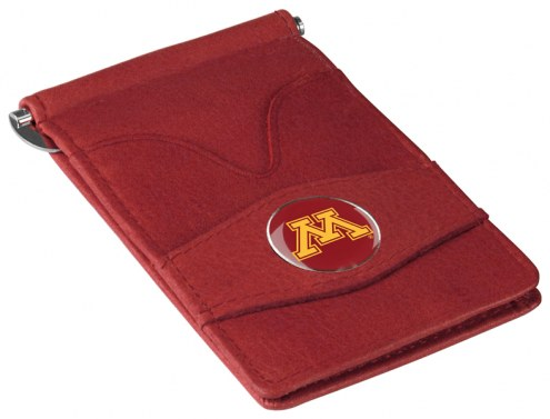Minnesota Golden Gophers Garnet Player's Wallet
