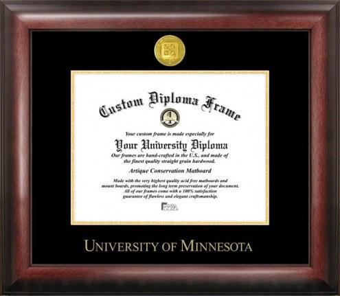 Minnesota Golden Gophers Gold Embossed Diploma Frame