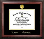 Minnesota Golden Gophers Gold Embossed Diploma Frame