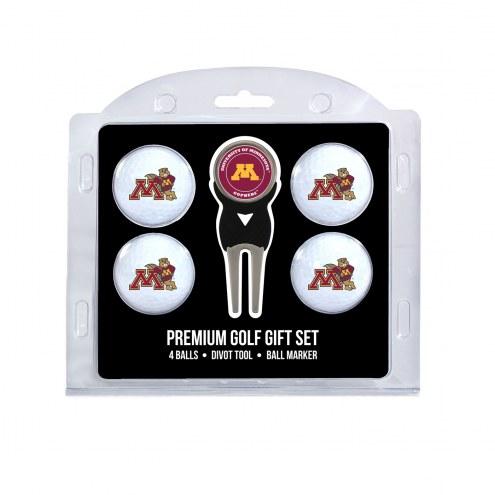 Minnesota Golden Gophers Golf Ball Gift Set