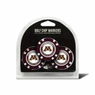 Minnesota Golden Gophers Golf Chip Ball Markers