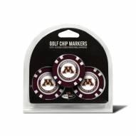 Minnesota Golden Gophers Golf Chip Ball Markers