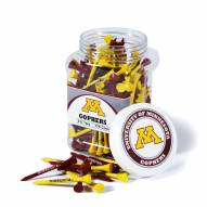 Minnesota Golden Gophers 175 Golf Tee Jar
