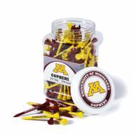 Minnesota Golden Gophers 175 Golf Tee Jar