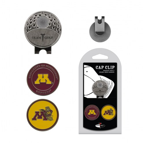Minnesota Golden Gophers Hat Clip & Marker Set