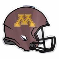 Minnesota Golden Gophers Helmet Car Emblem