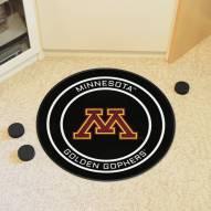 Minnesota Golden Gophers Hockey Puck Mat