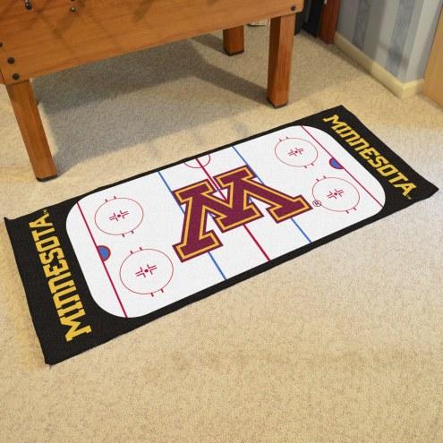Minnesota Golden Gophers Hockey Rink Runner Mat