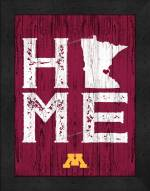 Minnesota Golden Gophers Home Away From Home Wall Decor