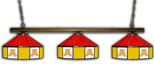 Minnesota Golden Gophers 3 Shade Pool Table Light