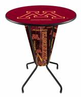Minnesota Golden Gophers Indoor/Outdoor Lighted Pub Table