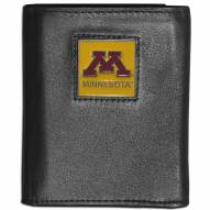 Minnesota Golden Gophers Leather Tri-fold Wallet