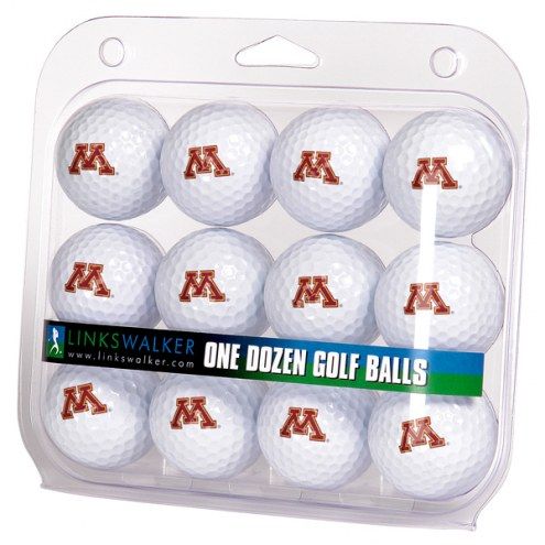 Minnesota Golden Gophers Dozen Golf Balls