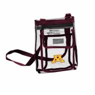 Minnesota Golden Gophers Gameday Clear Crossbody Tote