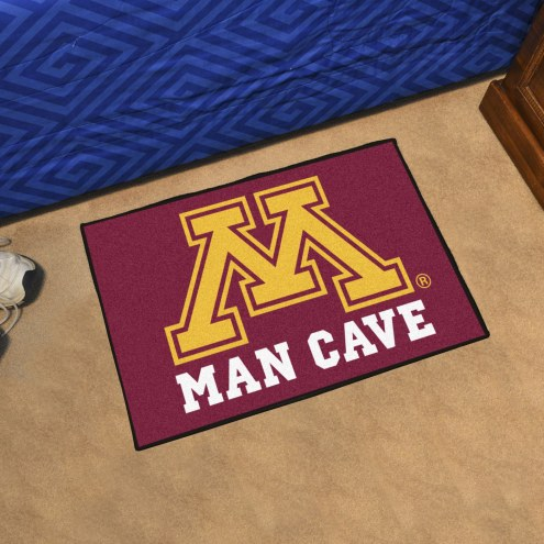 Minnesota Golden Gophers Man Cave Starter Mat