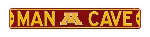 Minnesota Golden Gophers Man Cave Street Sign