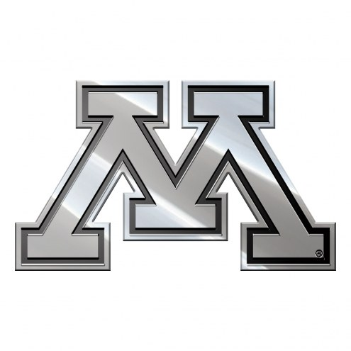 Minnesota Golden Gophers Metal Car Emblem