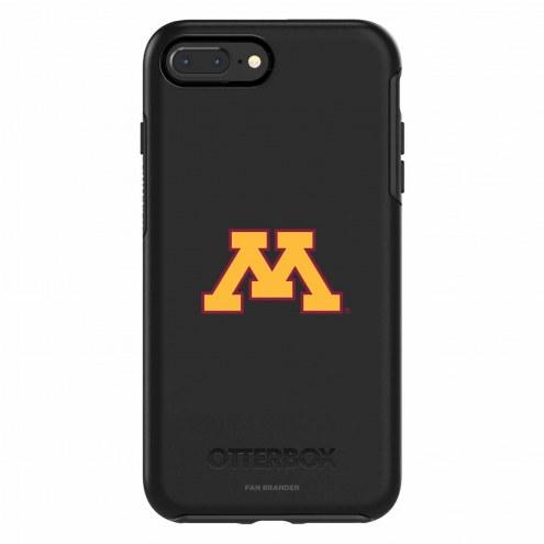 Minnesota Golden Gophers OtterBox iPhone 8 Plus/7 Plus Symmetry Black Case