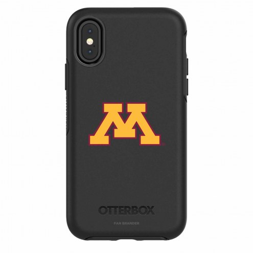 Minnesota Golden Gophers OtterBox iPhone X Symmetry Black Case