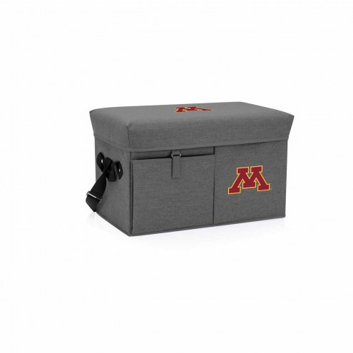 Minnesota Golden Gophers Ottoman Cooler & Seat