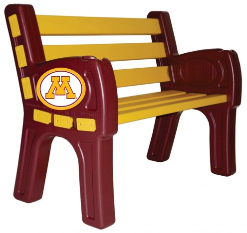 Minnesota Golden Gophers Park Bench