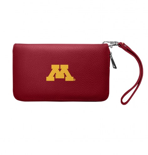 Minnesota Golden Gophers Pebble Organizer Wallet