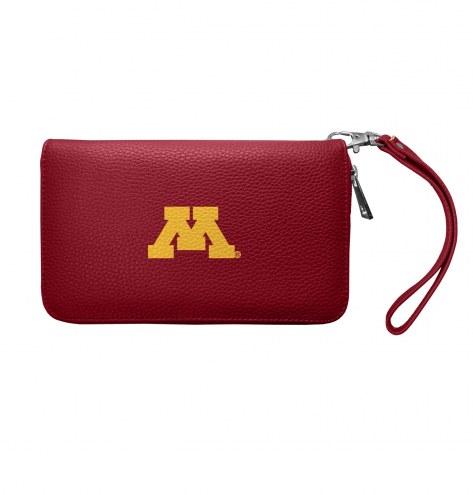 Minnesota Golden Gophers Pebble Organizer Wallet