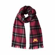 Minnesota Golden Gophers Plaid Blanket Scarf