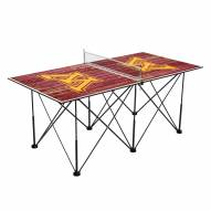 Minnesota Golden Gophers Pop Up 6' Ping Pong Table
