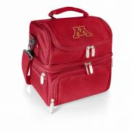 Minnesota Golden Gophers Red Pranzo Insulated Lunch Box