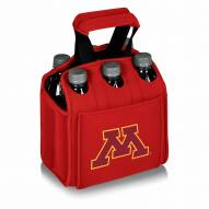 Minnesota Golden Gophers Red Six Pack Cooler Tote